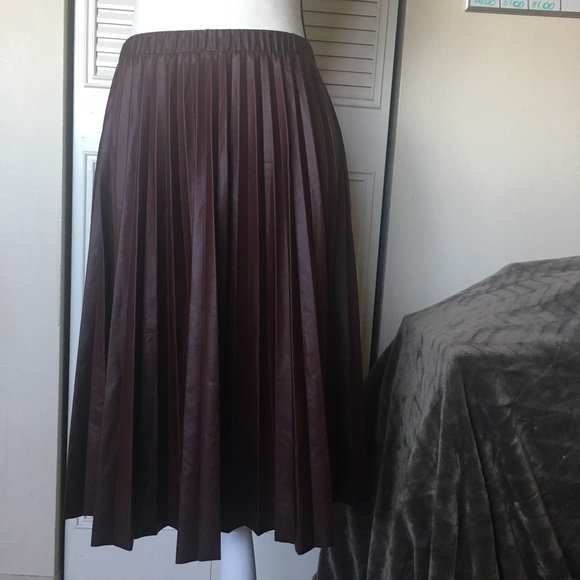 f017e4c90c NWOT Pleather Pleated Skirt. Nordstrom. M_5a78c13d46aa7cbee9c3148e.  M_5a78c13ea4c4856dd8dd18df. M_5a78c13f8290afc762a5a205.  M_5a78c2709d20f053ef8da843